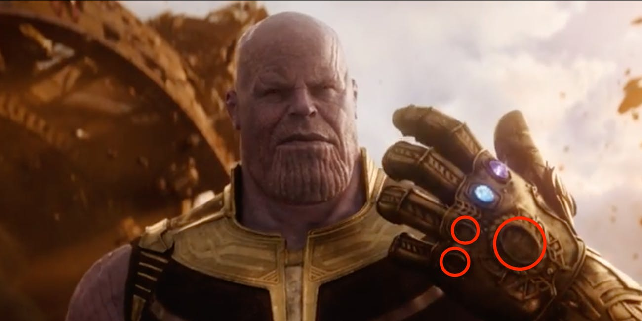 Thanos fights the Avengers with more than one Infinity Stone.