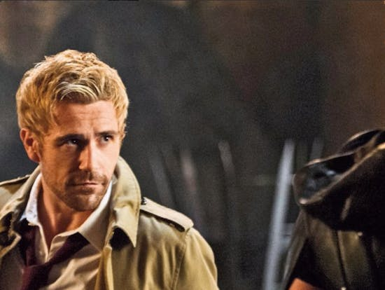 Magazine Scan Shows Constantine's Upcoming 'Arrow' Appearance