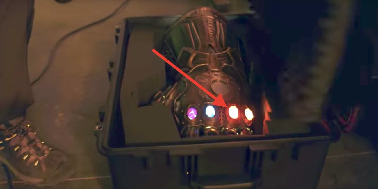 Marvel Studios might've revealed the third and fourth Infinity Stones that Thanos gets.