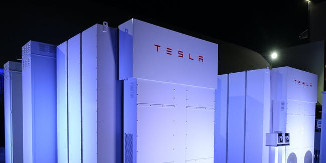 Tesla installed an electric grid in the Los Angeles basin, which is made up of Powerpacks.