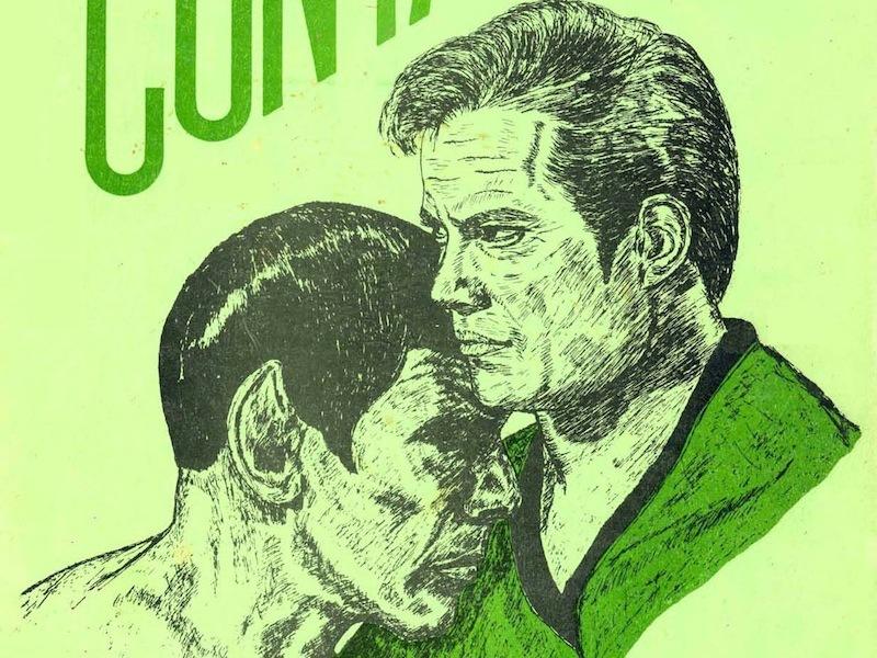 Early Kirk/Spock fan art