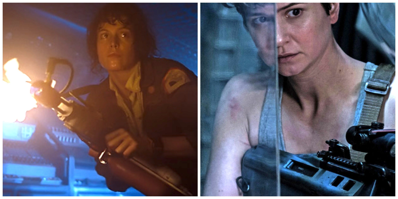 Scene from Alien: Covenant by director Ridley Scott