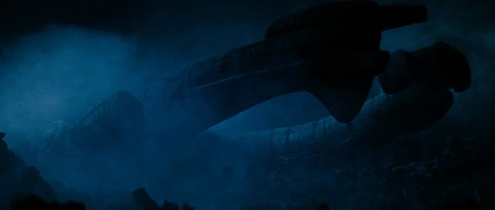 The ship in the 1979 'Alien'.