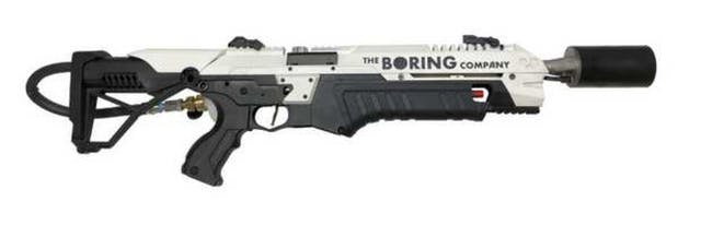 elon musk 39 s 600 flamethrower leaked on boring company. Black Bedroom Furniture Sets. Home Design Ideas