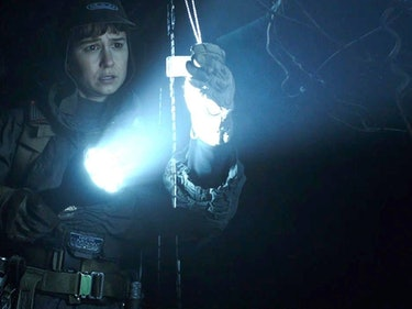 Katherine Waterston's 'Alien: Covenant' Axe Fight Will Be Epic AF