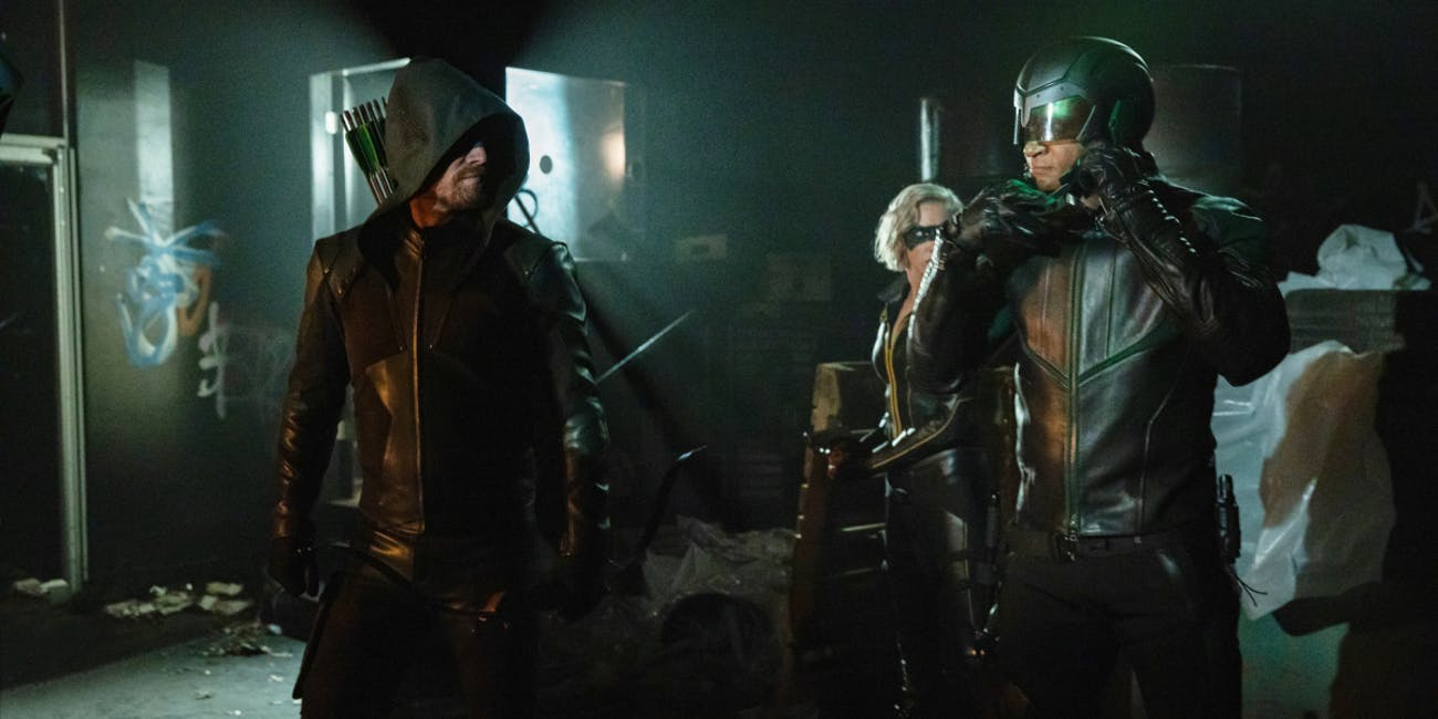Arrow Season 8 Starling City White light
