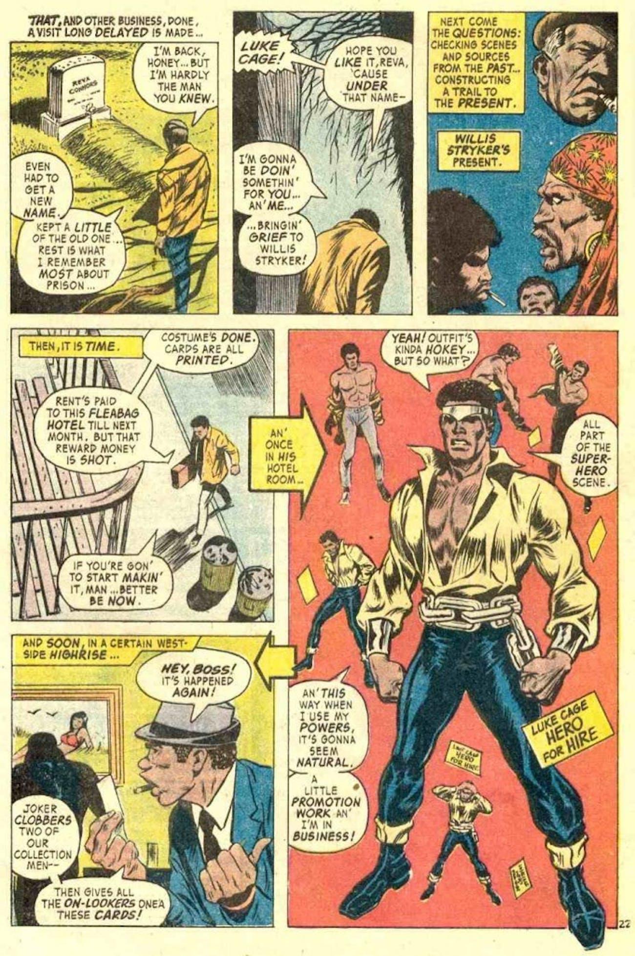 Luke Cage Marvel Comics