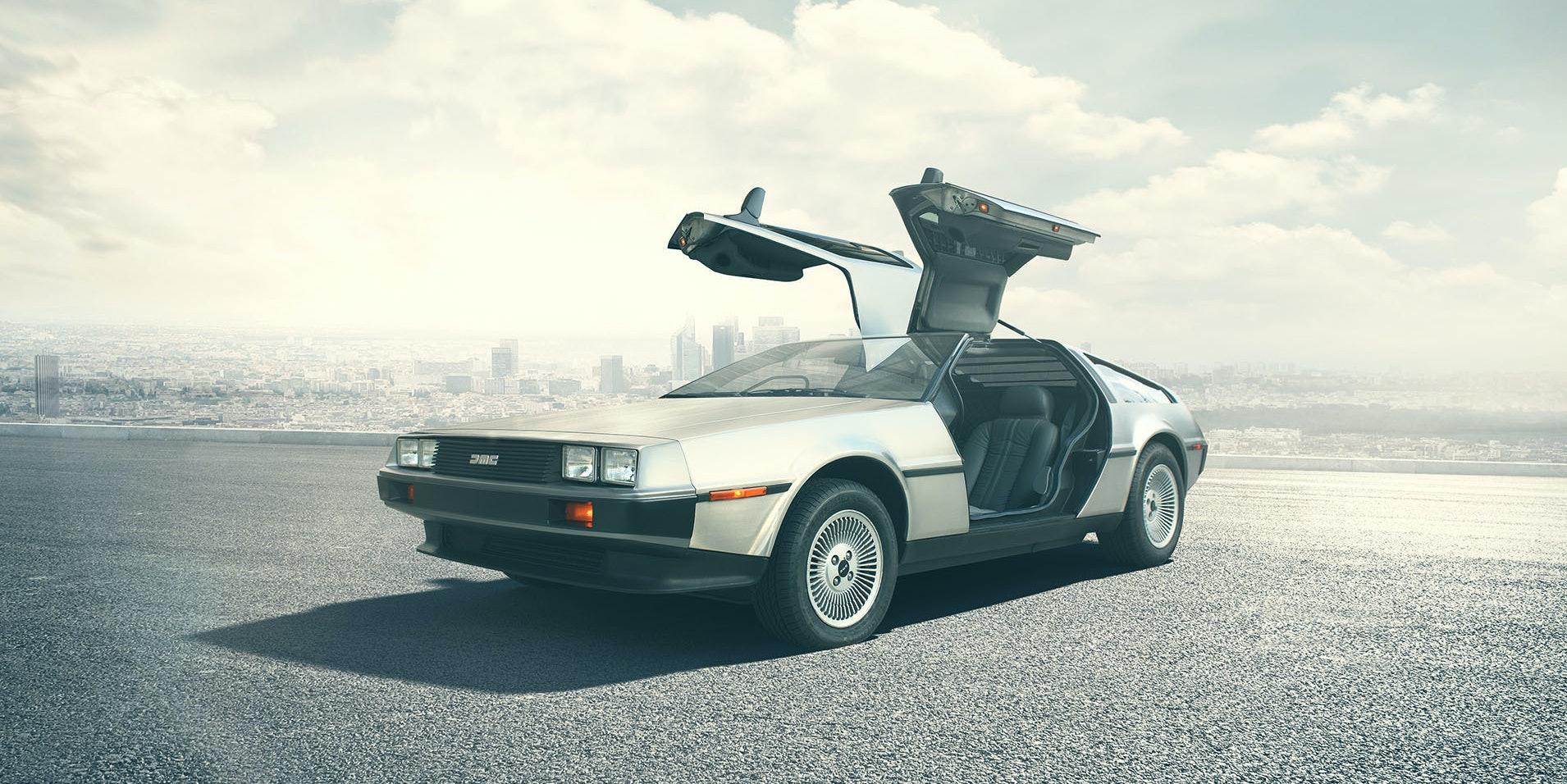 The DeLorean.