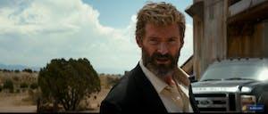 Hugh Jackman as Wolverine in 'Logan'