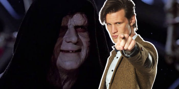 Star Wars 9 Matt Smith Emperor Palpatine