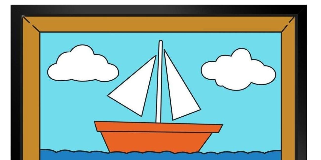 simpsons sailboat