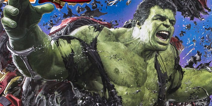 the hulk infinity war