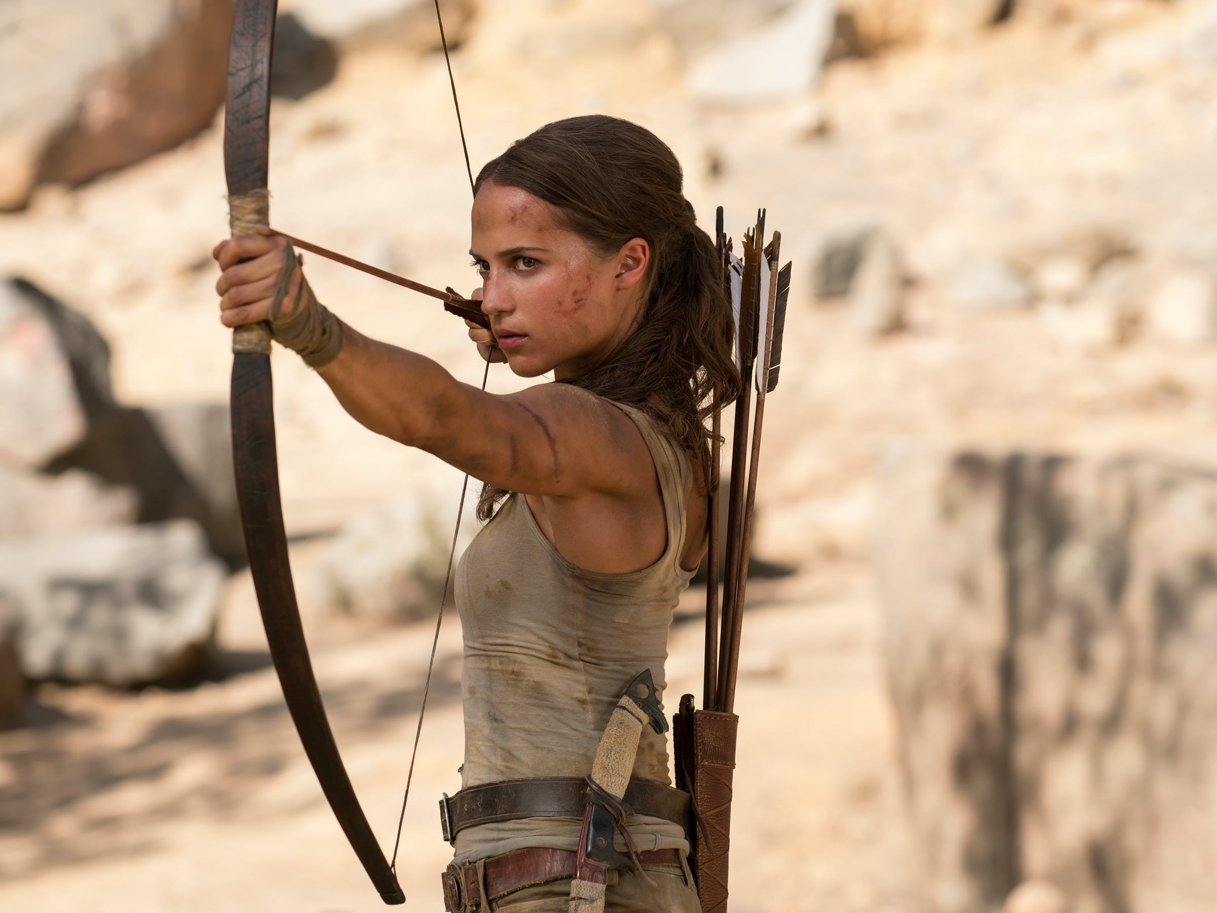 Alicia Vikander Lara Croft Tomb Raider