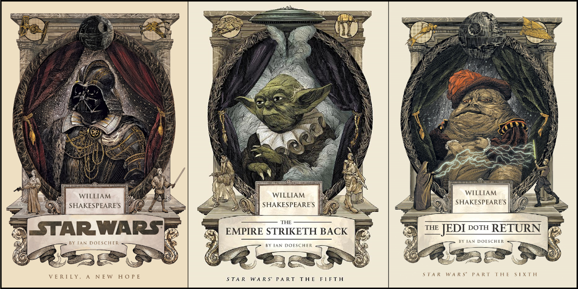 Ian Doescher's 'Star Wars' novels