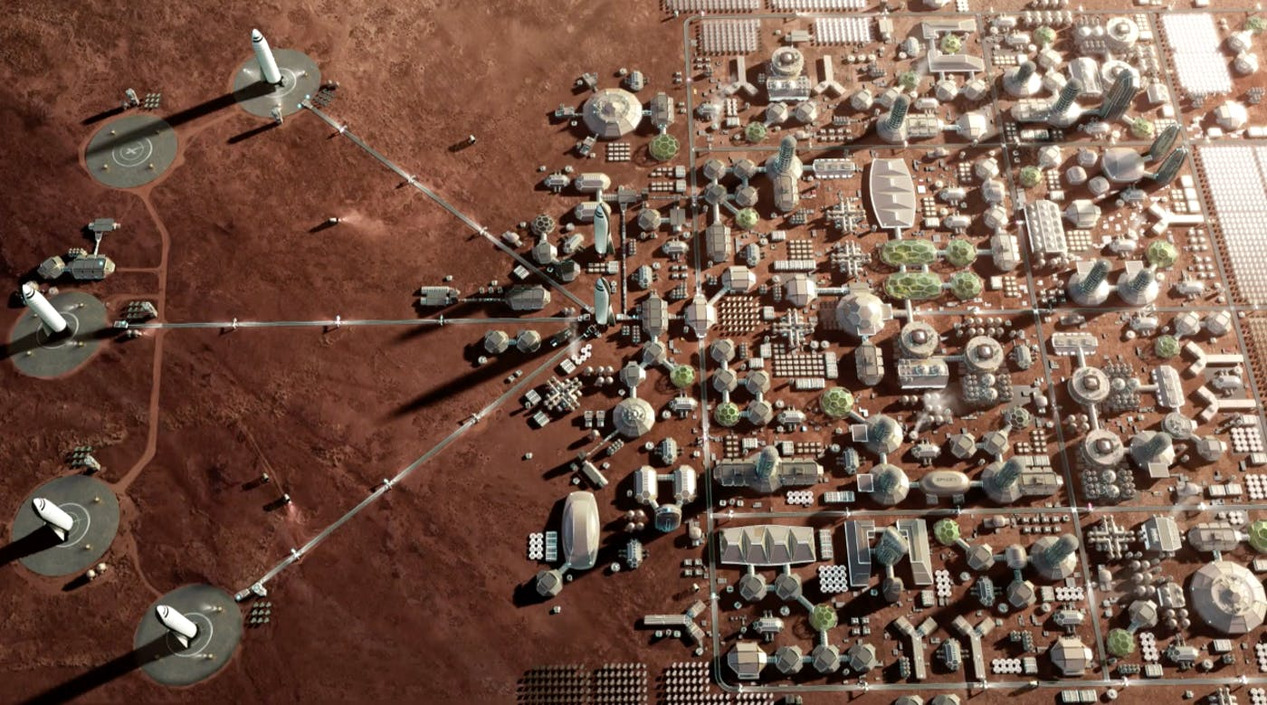 SpaceX: Here's the Timeline for Getting to Mars and Starting