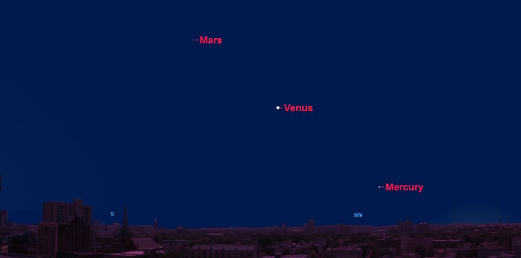 How to See Venus in the Night Sky Tonight | Inverse