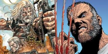 Old Man Logan Hawkeye