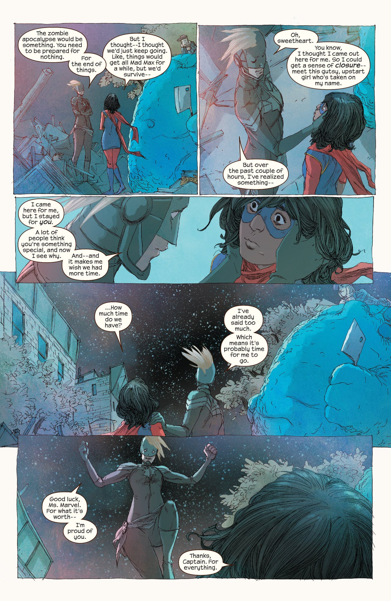 Ms. Marvel Kamala Khan Carol Danvers