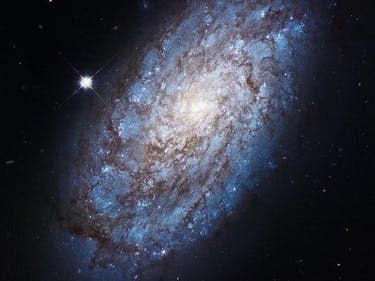 New Hubble Images Show Two Galaxies a Mere 7,000 Light-Years Apart
