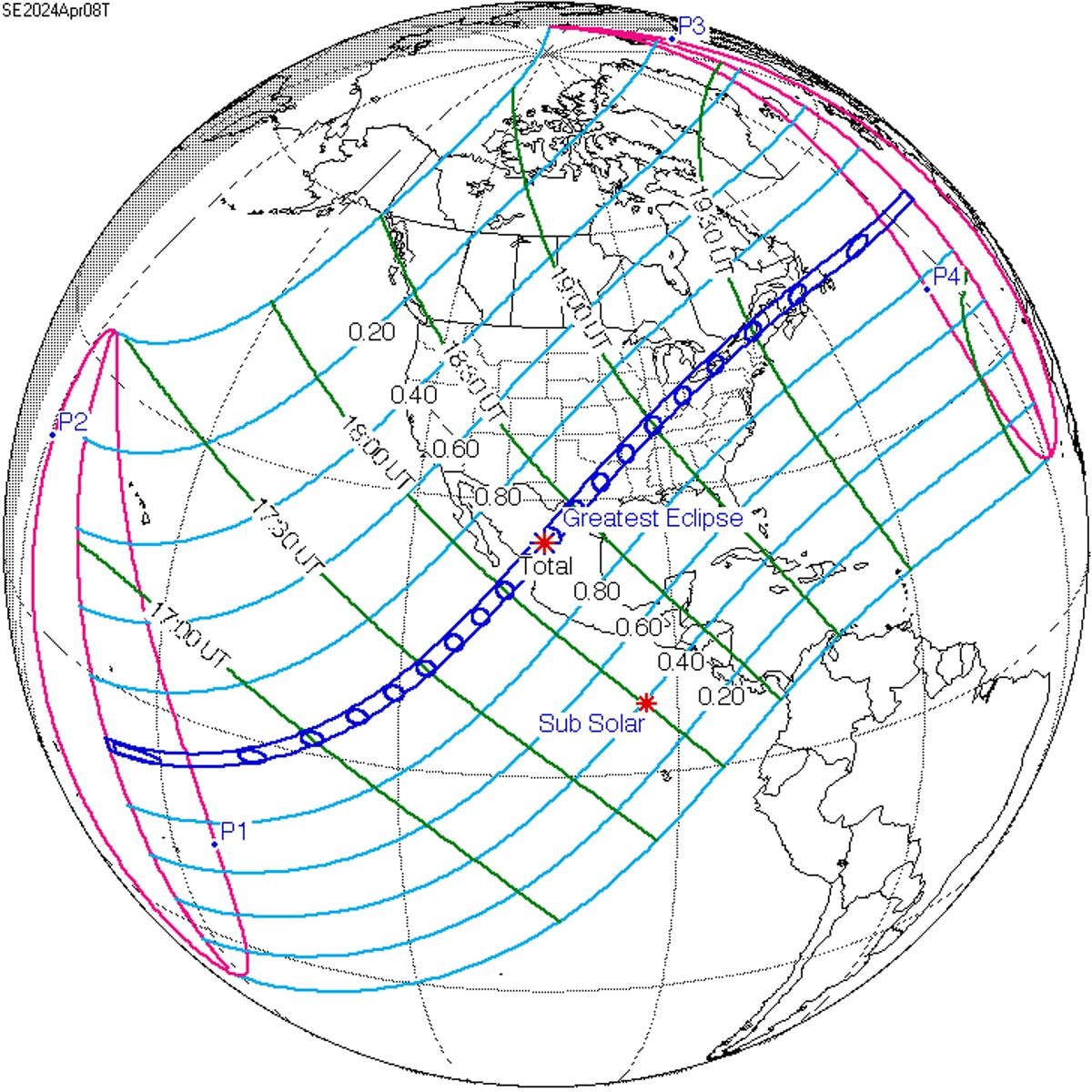 Where to See the Next U.S. Total Solar Eclipse in 2024