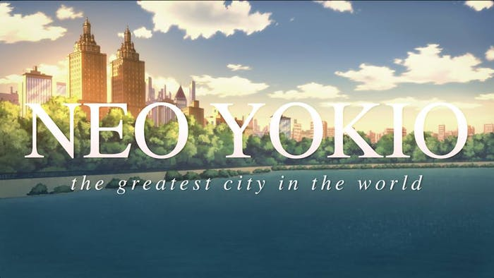 Neo Yokio is marketed as the greatest city in the world.