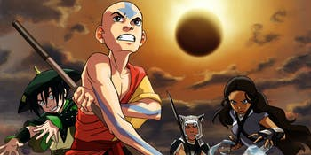 The total solar eclipse played a huge role in 'Avatar: The Last Airbender.'