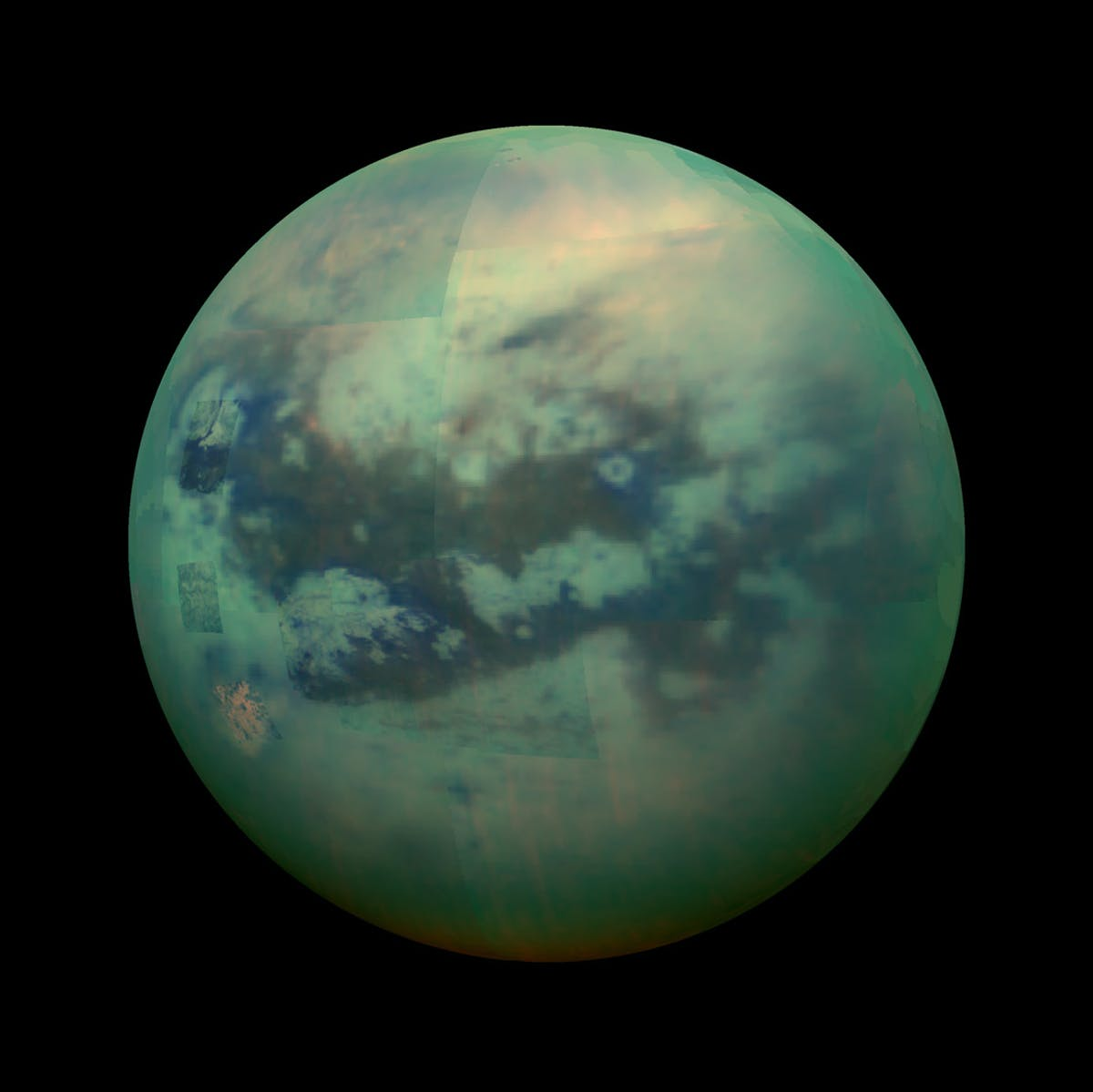 Scientists mapped Titan's awe-inspiring terrain for the first time