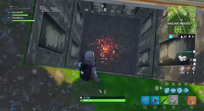 fortnite exposed hatch