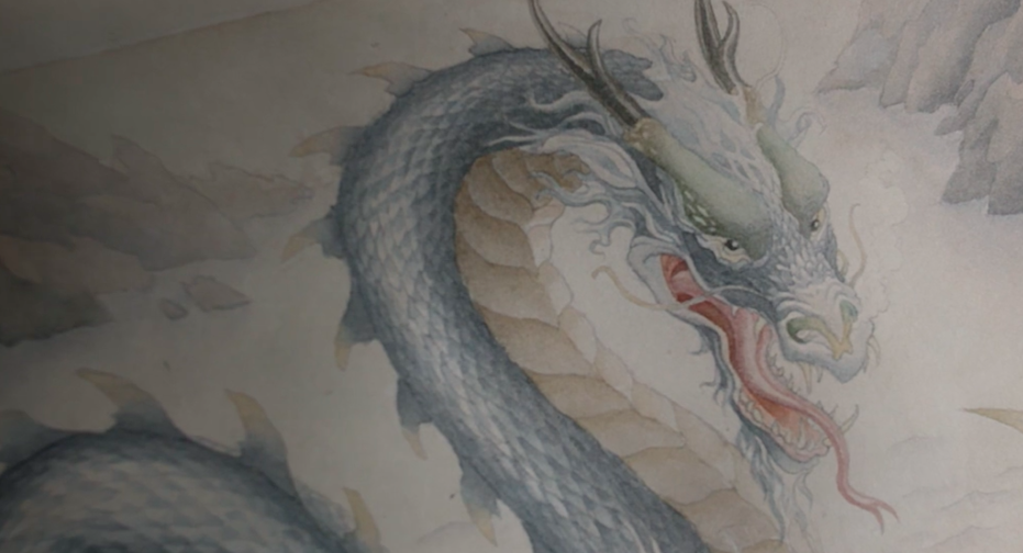 A glimpse of the dragon that is certainly coming next week.