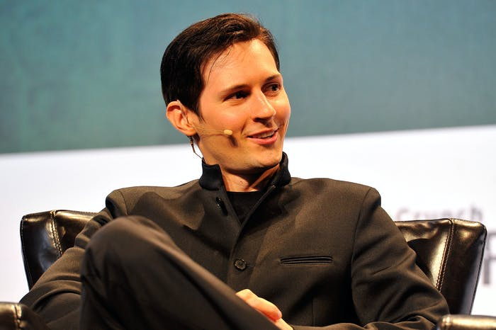 Pavel Durov, CEO and co-founder of Telegram.
