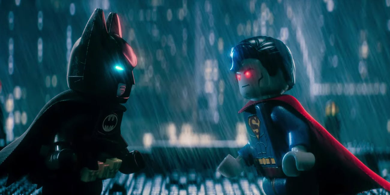 Batman LEGO Trailer Superman