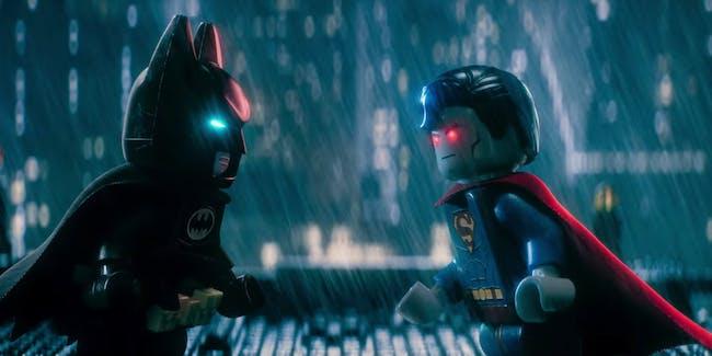 Batman LEGO Trailer Superman
