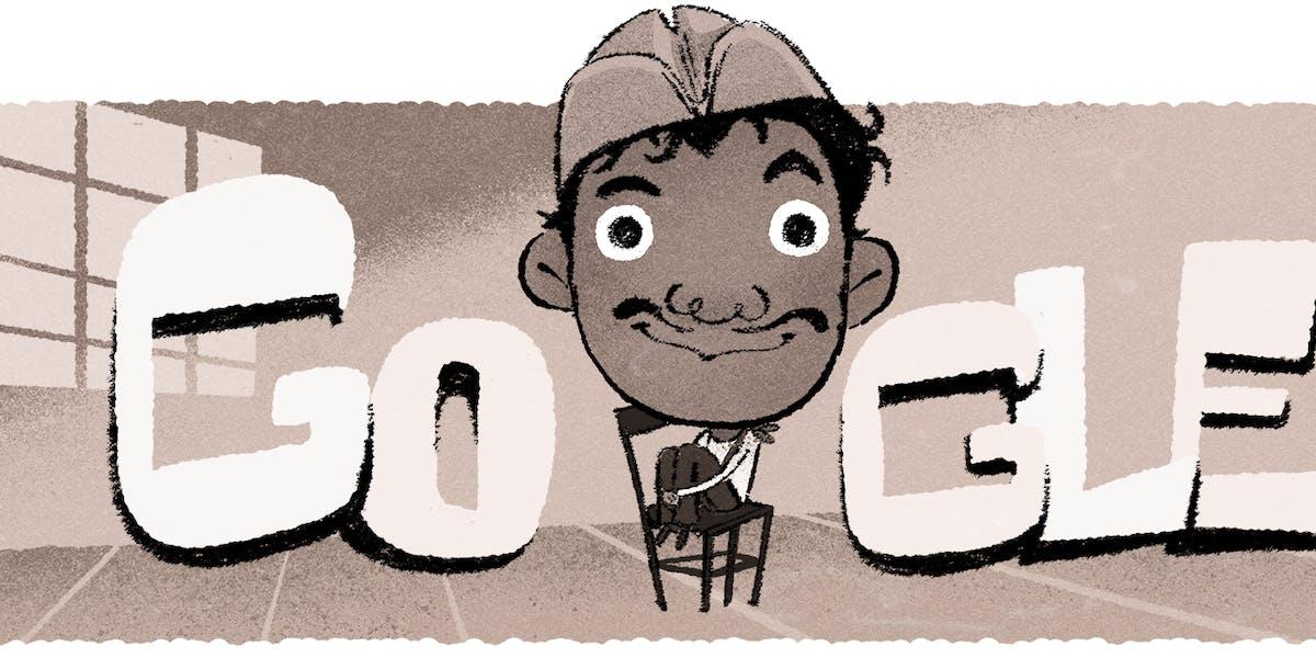Catinflas Google Doodle