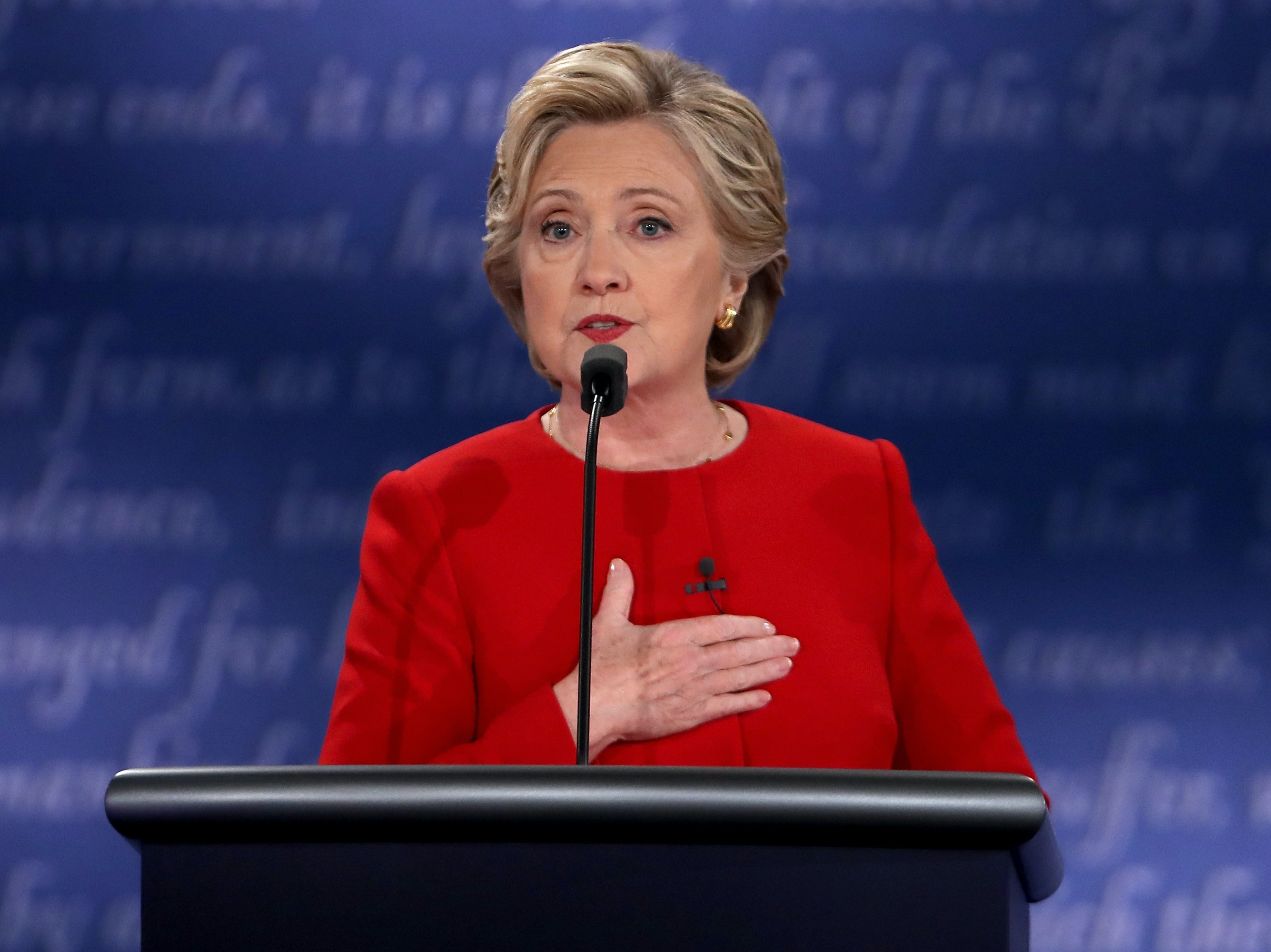 Hillary Clinton discussed the implicit bias against African Americans at the debate.