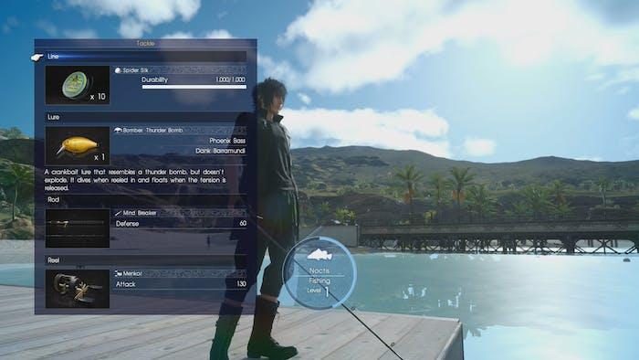 Fishing In Final Fantasy Xv Is Secretly Great Inverse