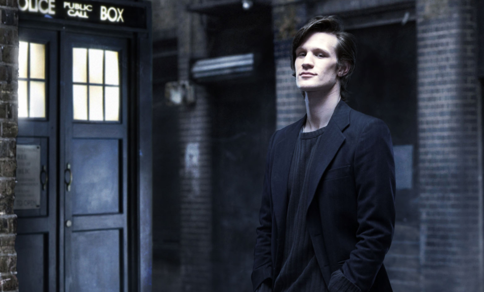 Early promotional shot of Matt Smith, just after his casting in 2009 on 'Doctor Who.'