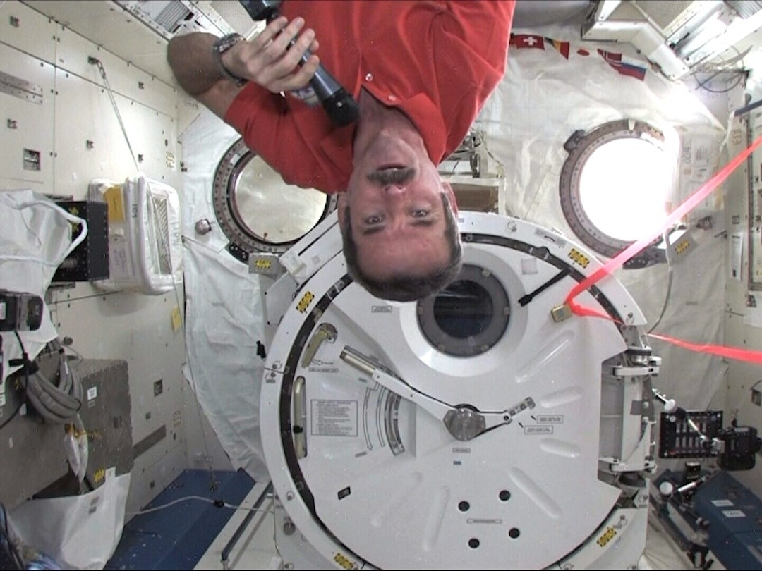 Astronauts might get accustomed to being upside down in space - what happens when they get to Mars?