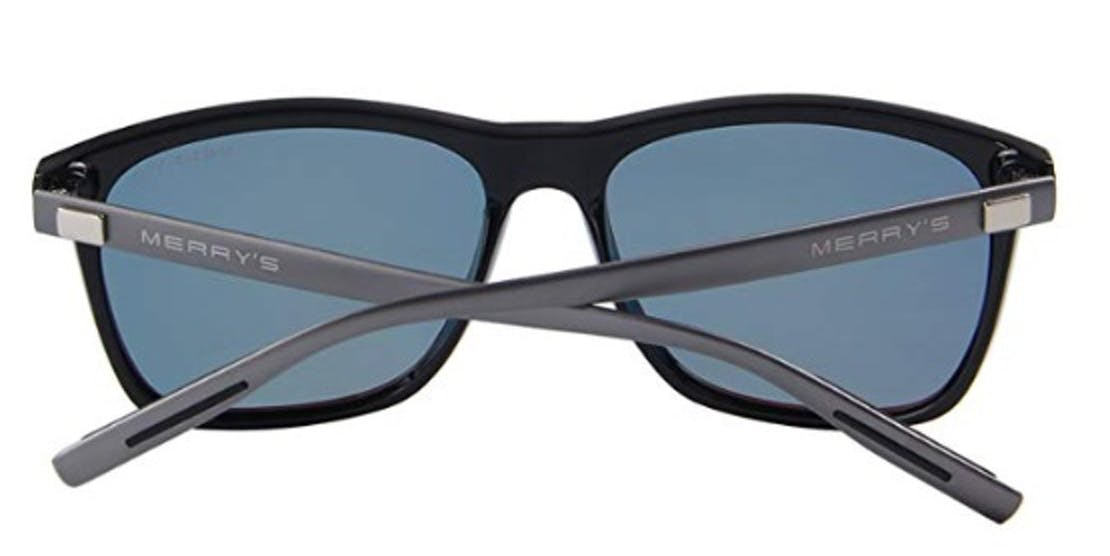 MERRY'S Unisex Polarized Aluminum Sunglasses Vintage Sun Glasses