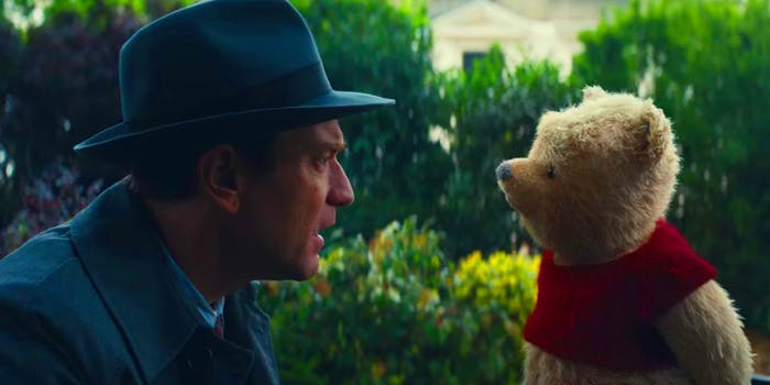 Winnie the Pooh returns in 'Christopher Robin'