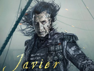 "Javier Bardem in ''Pirates of the Caribbean: Dead Men Tell No Tales"" or 'Pirates of the Caribbean 5'"