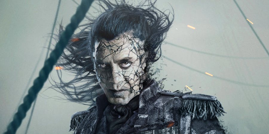 """Javier Bardem in ''Pirates of the Caribbean: Dead Men Tell No Tales"""" or 'Pirates of the Caribbean 5'"""