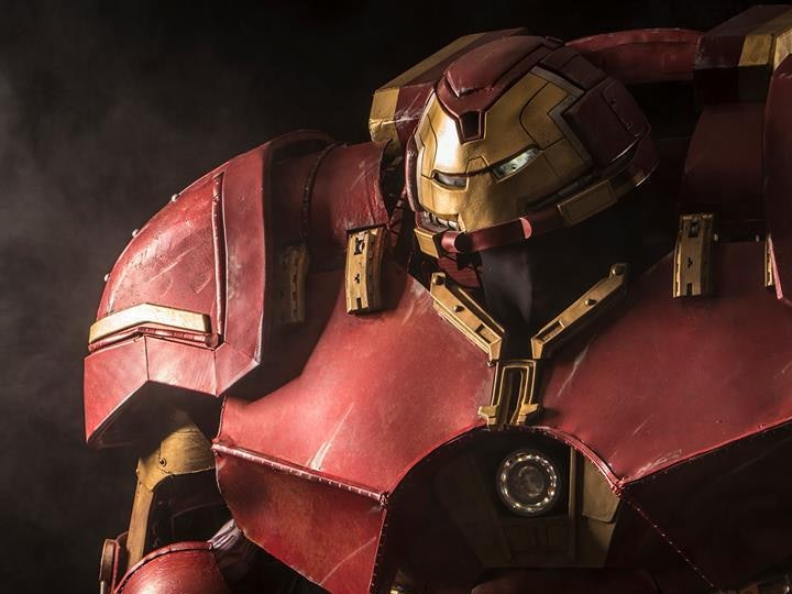 Check Out This Real-Life 'Avengers: Age of Ultron' Hulkbuster Suit