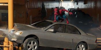 Spider-Man Homecoming Damage Control