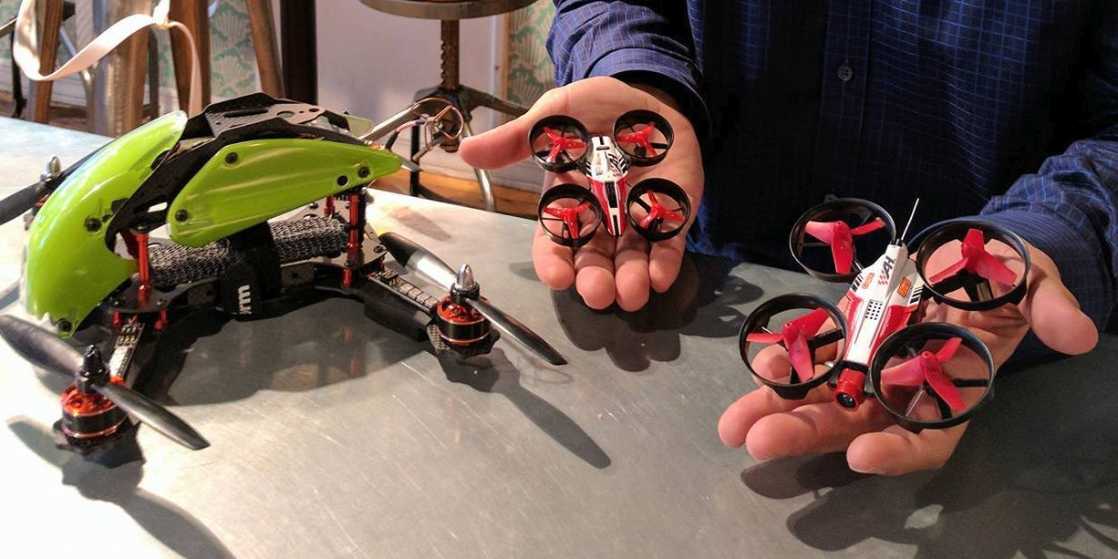 DR1 Racing will start the DR1 Micro Series, a micro drone race. Compared to regular racing drones, micro drones are safer and easier to fly, and they do not require a pilot's license.