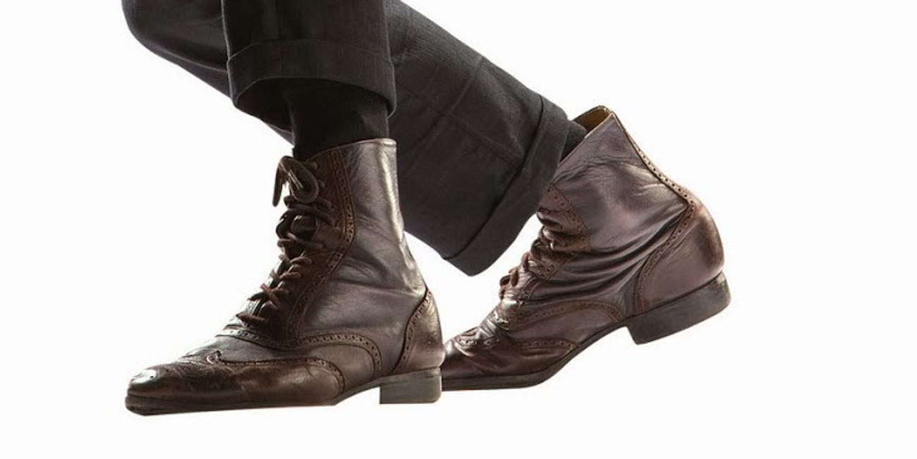 what shoes does matt smith wear in doctor who