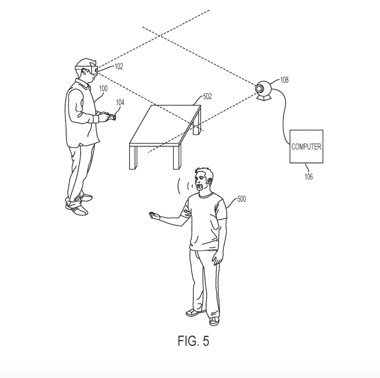 ps5 vr headset sony patent