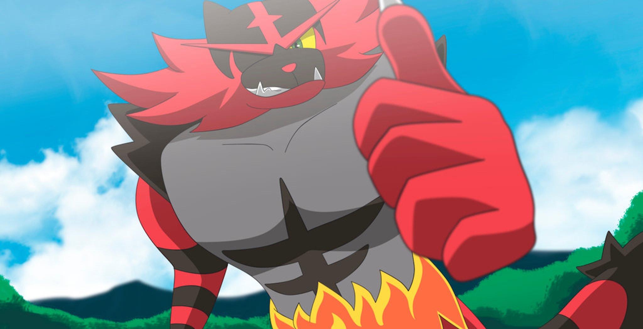 pokemon gen 7 Incineroar