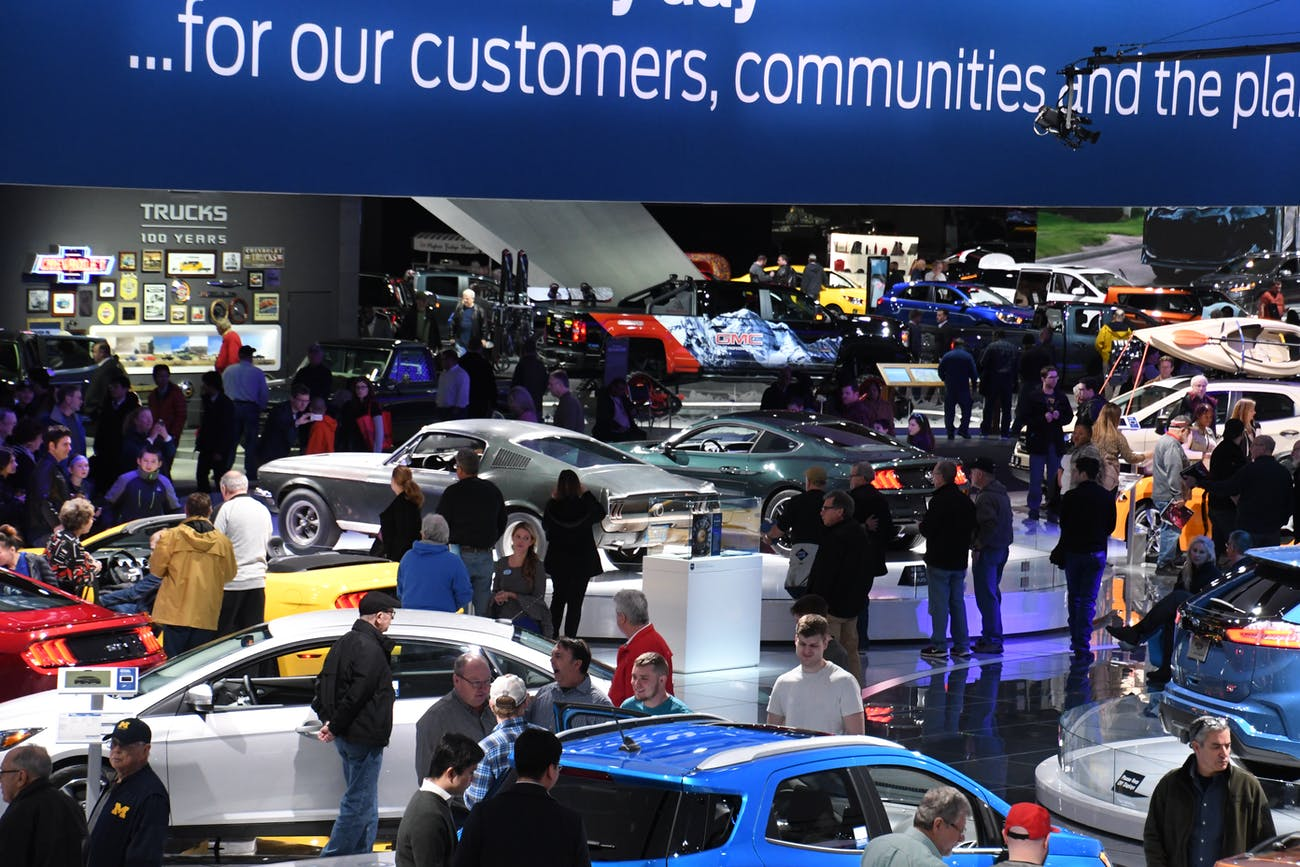 Detroit Auto Show Attendees Exposed to Rubella, an