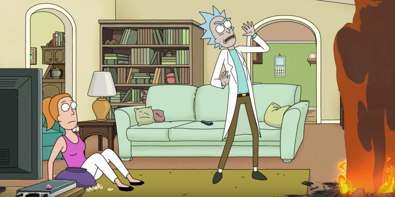 rick and morty dragon episode