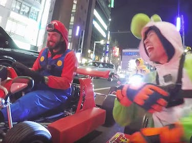 Real-Life 'Mario Kart' Is Being Sued by Nintendo